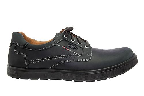 Zapatos de Piel Negro.