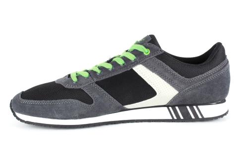 Musta/harmaat mokka sneakerit