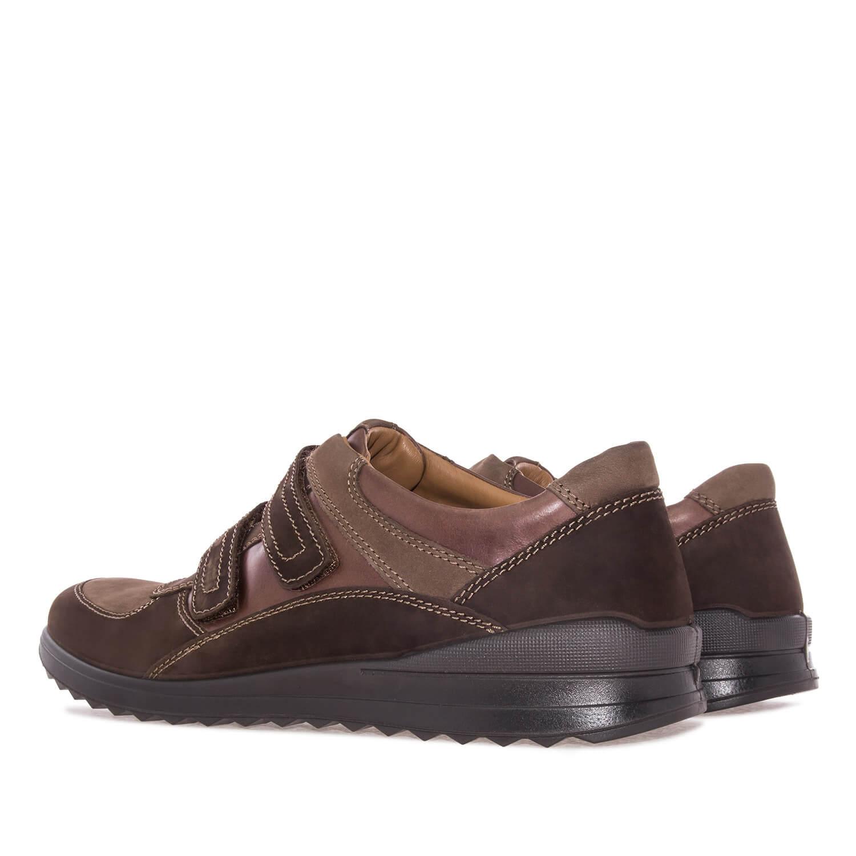 Zapato de Piel Marron