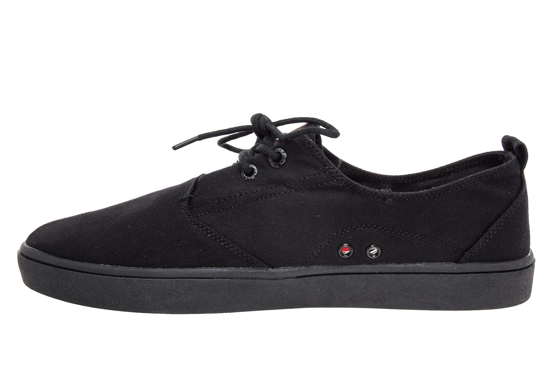 65a08904f33 Pánské plátěné tenisky černé - Pánská obuv