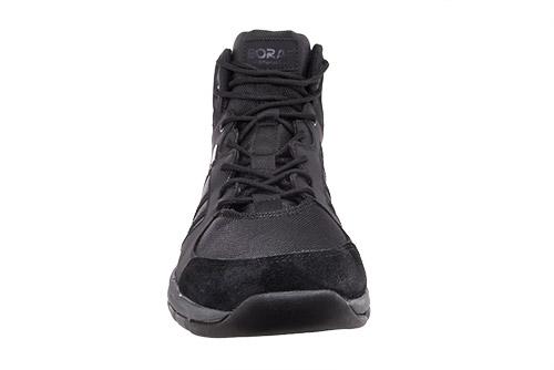 Pánská kotníčková treková obuv černá
