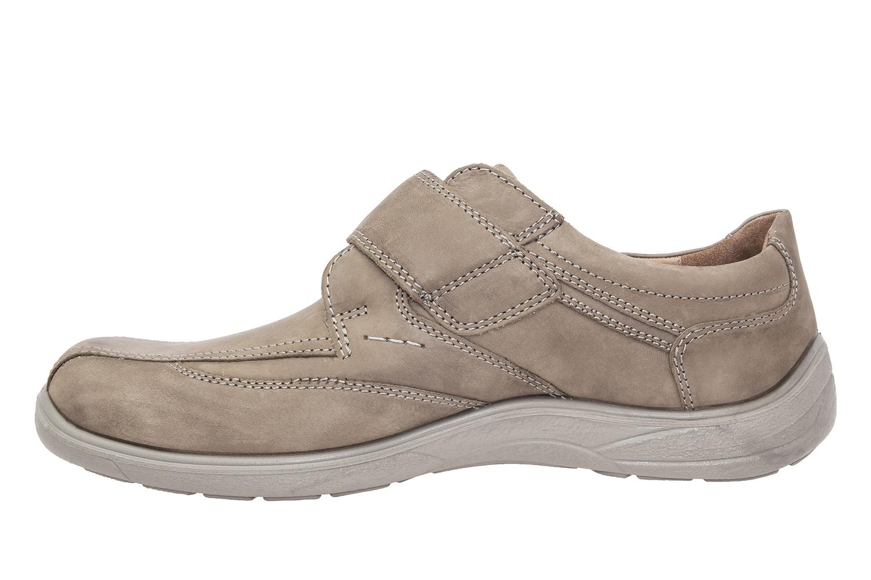 Zapatos en Piel Camel con cierre de Velcro