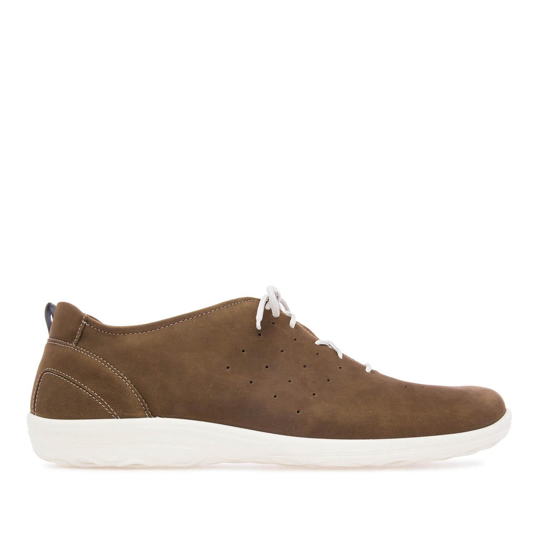 Zapatos de caballero de cuero Marrón