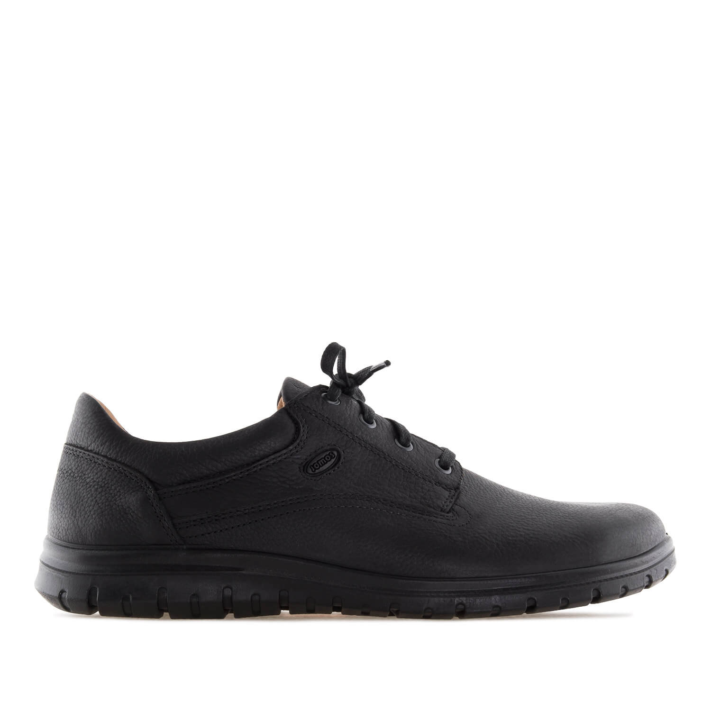 Zapatos de cuero Negro