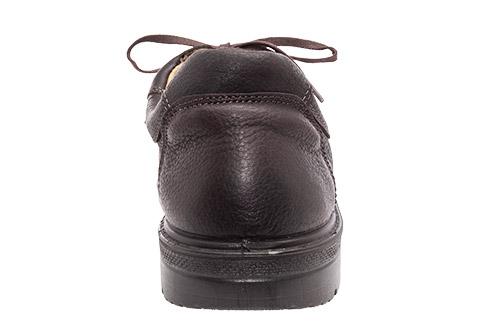 Zapatos de Cuero Marron.