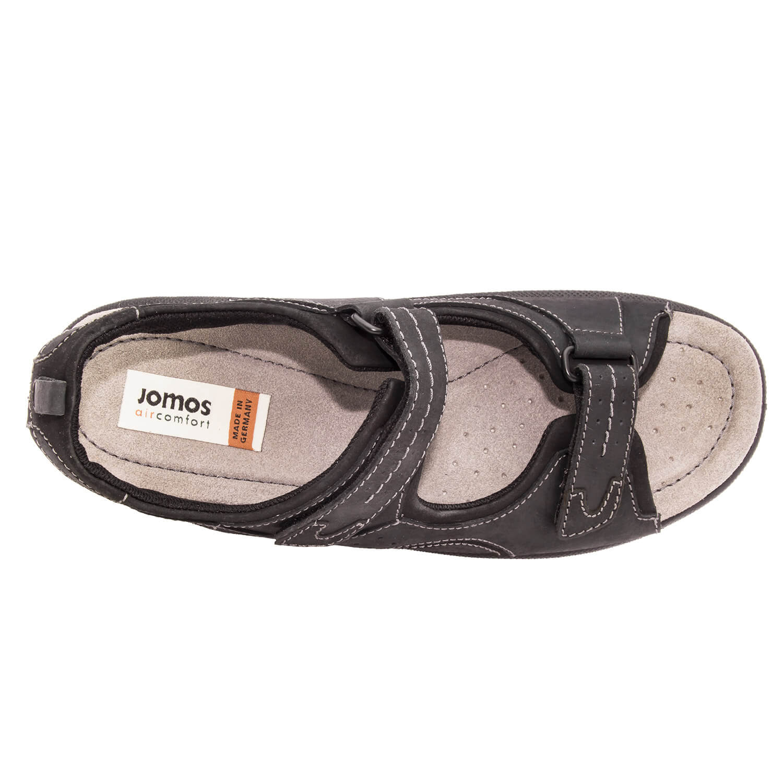 Sandalias para Caballero de Piel Negro
