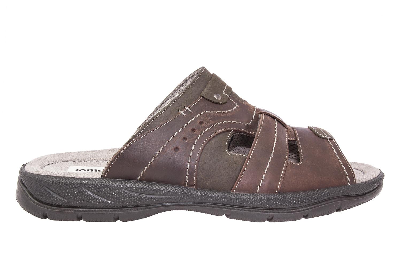 Sandalias de Caballero en piel color Marron