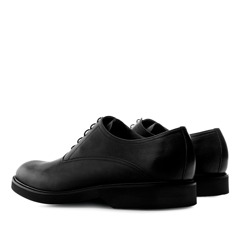 Zapato de vestir en Cuero de color Negro