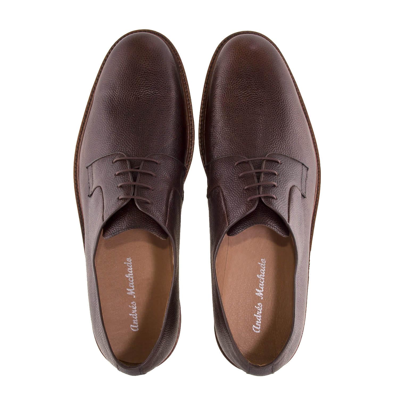 Zapato de Piel color Marron