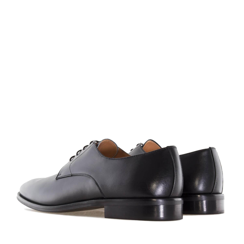 Elegatne kožne cipele, crne