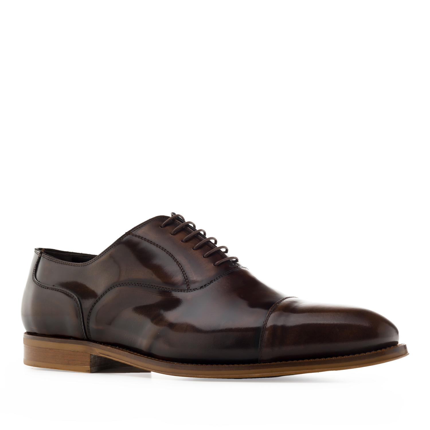 Oxford Shoes in Brown Antik Leather