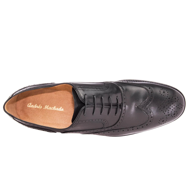 Kožne Oxford cipele sa šavovima, crne