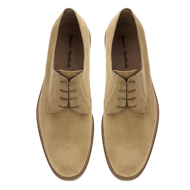 Zapatos Oxford Serraje Arena