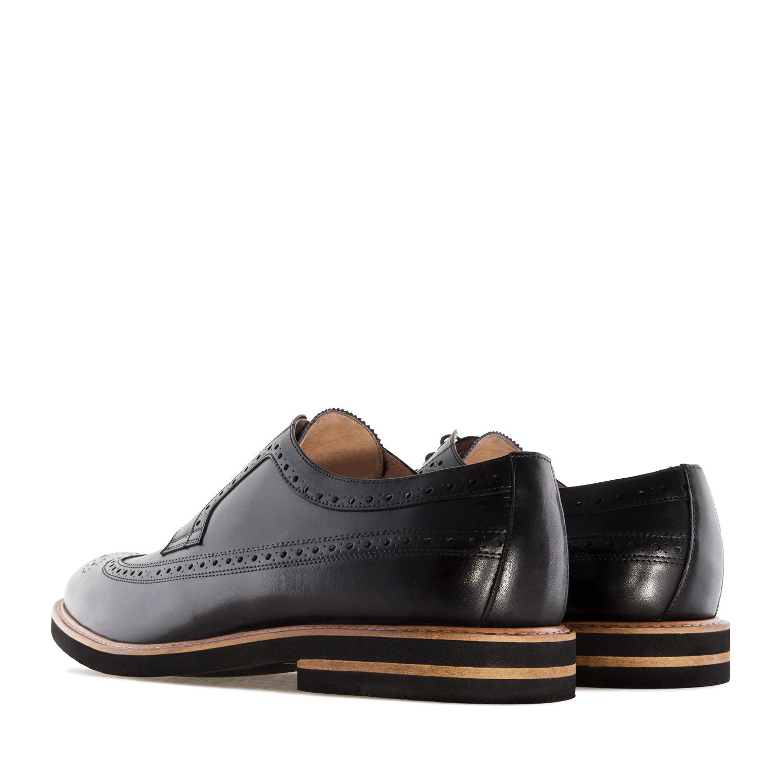 Zapato estilo Oxford en Cuero Negro