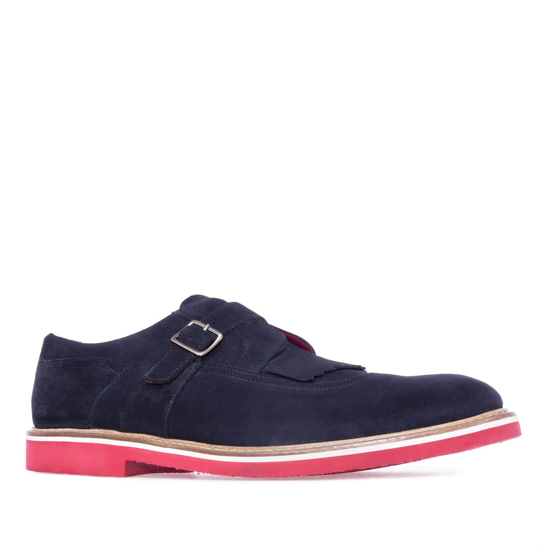 Zapatos Estilo Oxford en Serraje Marino.50 OeKEY