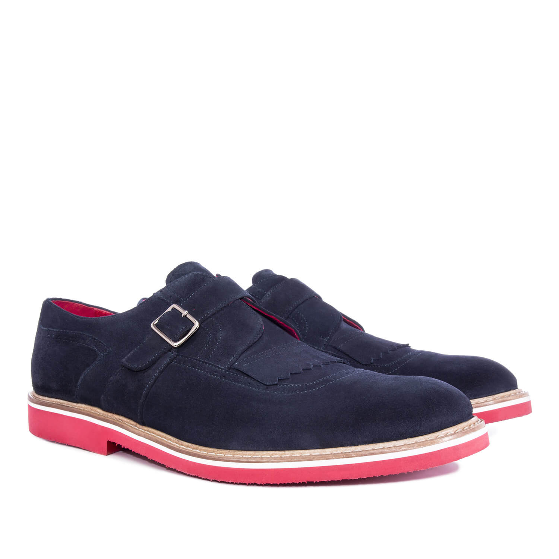 Antilop cipele u oxford stilu, teget