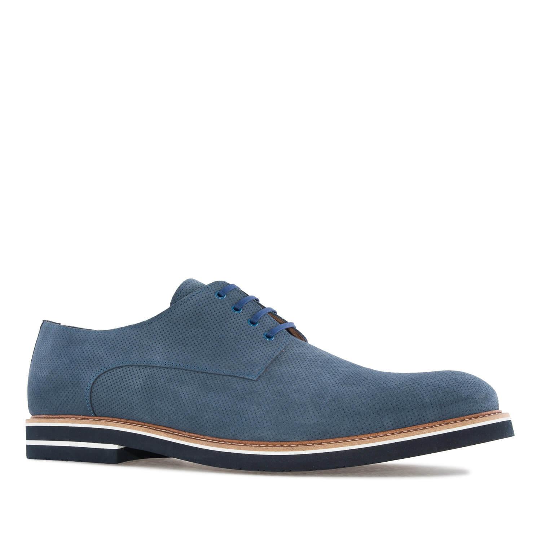 Cipele na pertlanje u Oxford stilu, plave