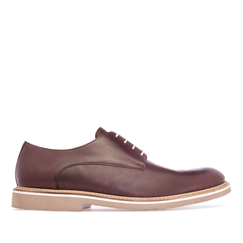 Zapato de Caballero estilo Oxford en Piel Marrón