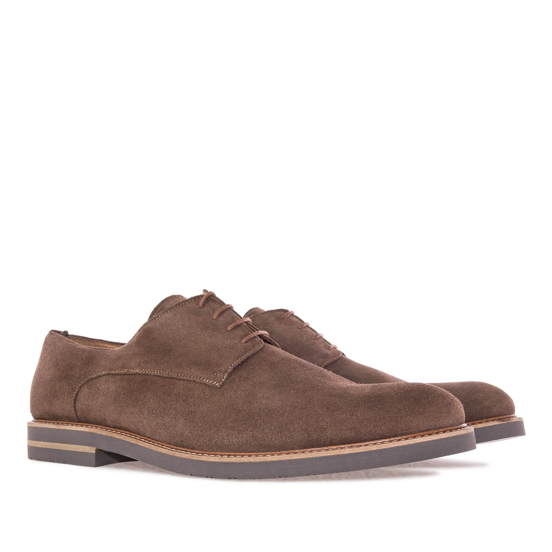 Zapato en Serraje Camel.50 iac60X1R