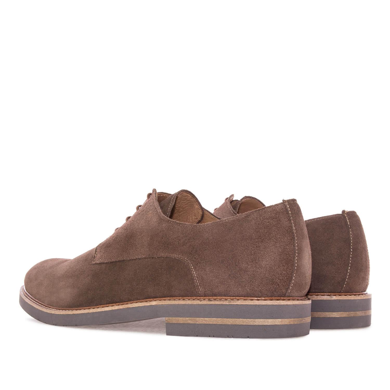 Zapato en Serraje Camel