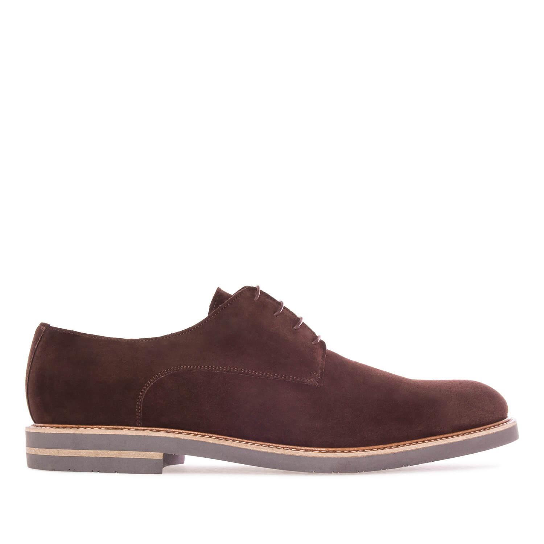 Zapato en Serraje Marron