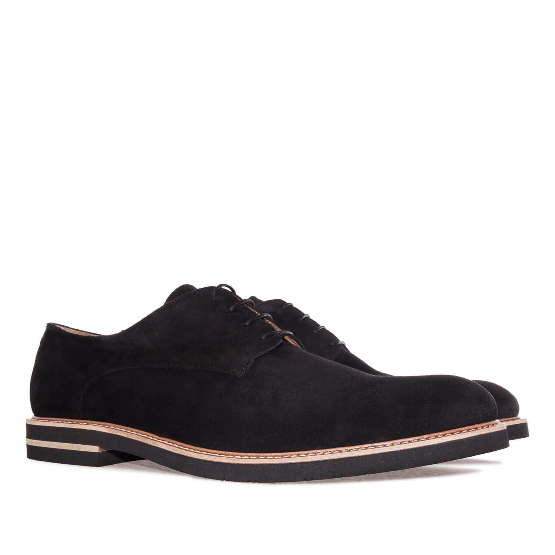 Zapato en Serraje Negro