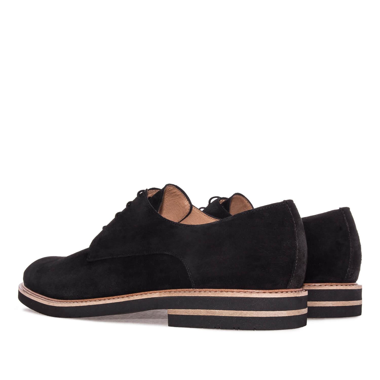 Cipele na pertlanje u Oxford stilu, crne