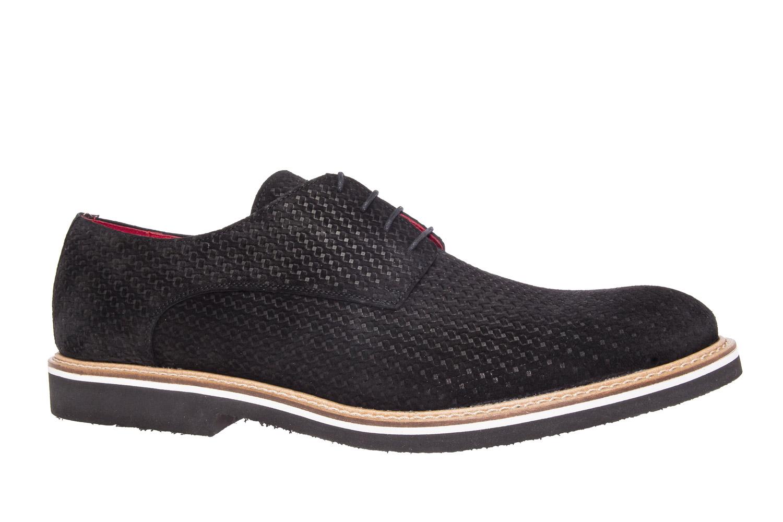 Zapatos estilo Oxford Serraje Negro