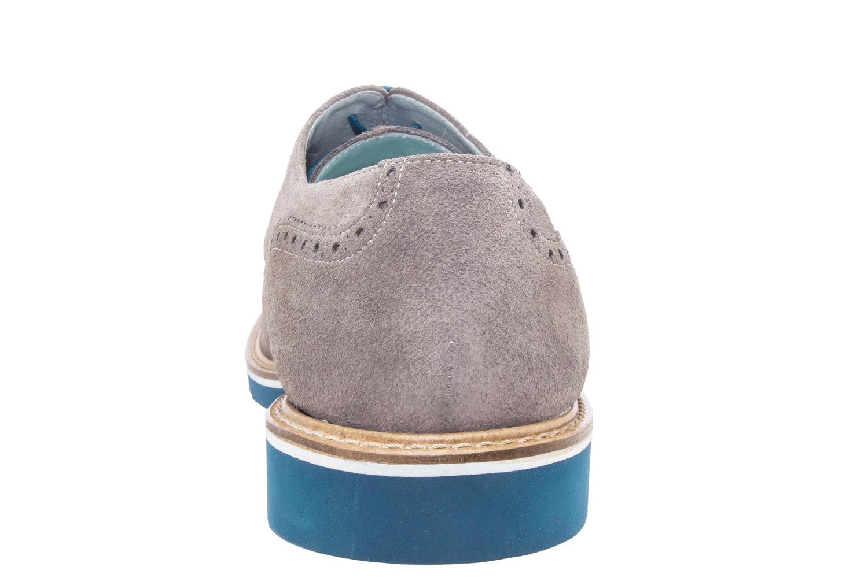 Zapatos estilo Oxford Serraje Gris