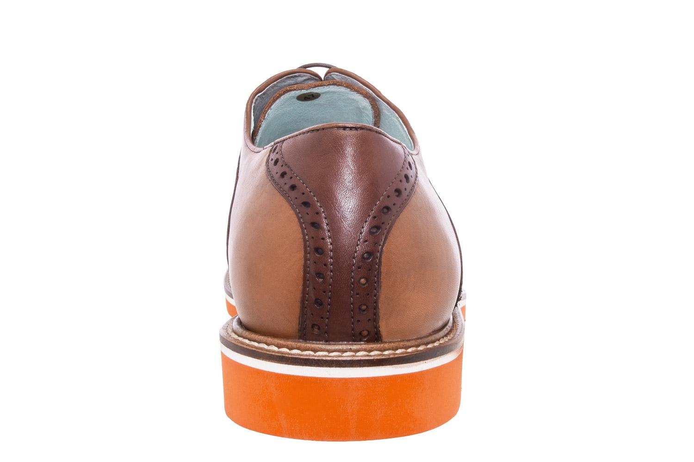 Zapatos estilo Oxford Cuero Marron