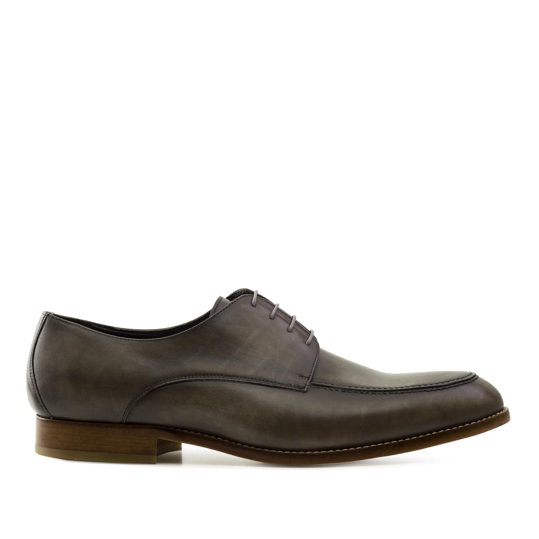 Zapato Oxford Piel Taupe