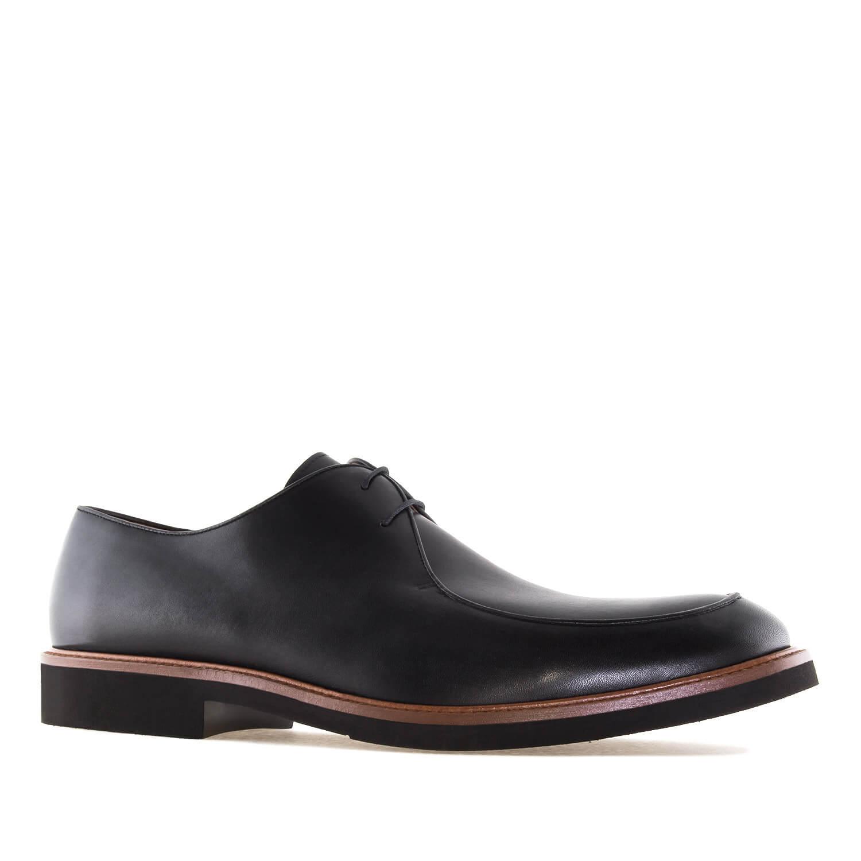 Elegantne kožne cipele, crne