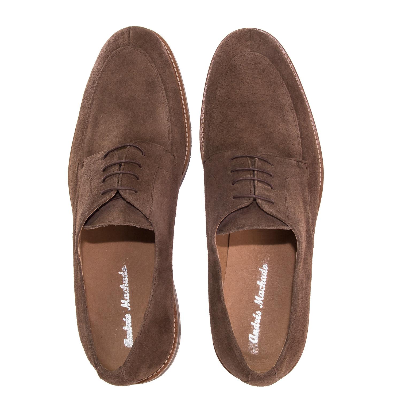 Zapatos Blucher Serraje Marron