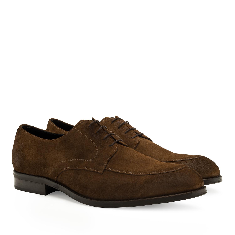 Zapatos Blucher Serraje Cepillo Roble