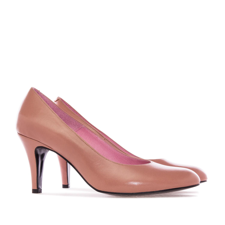 Zapato de Piel Tostado