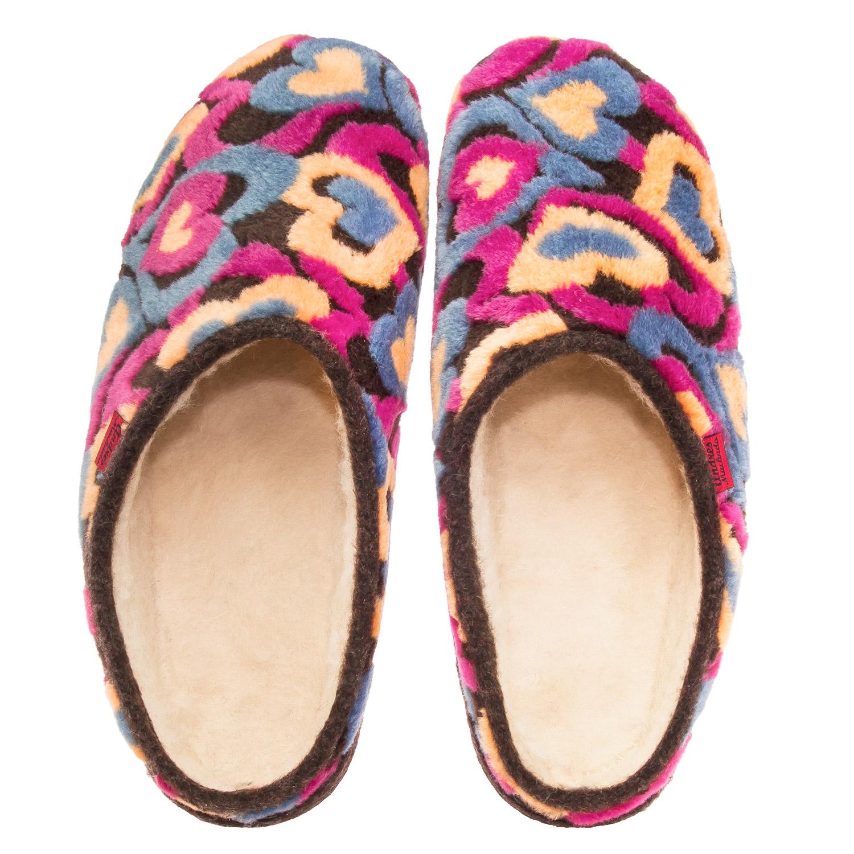 Anatomske papuče, šarena srca