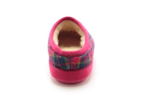 Kućne anatomske papuče, roze
