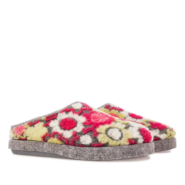 Zapatillas Alpinas Estampado Flores