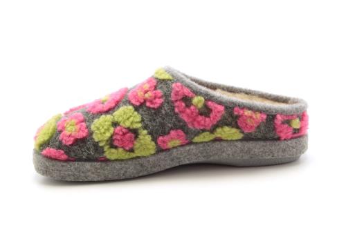 Zapatillas Alpinas Estampado Flores.
