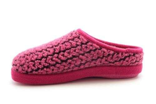 Kućne anatomske papuče, prošarane roze