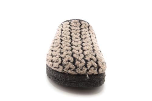 Zapatillas Alpinas con Estampado Espiga Marron.
