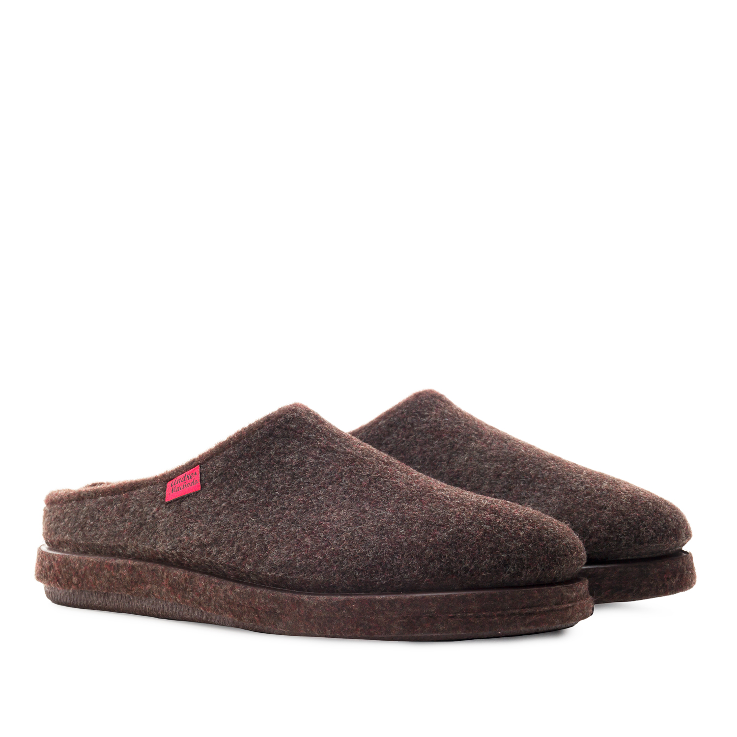 Very comfortable Brown Alpine Felt Slippers