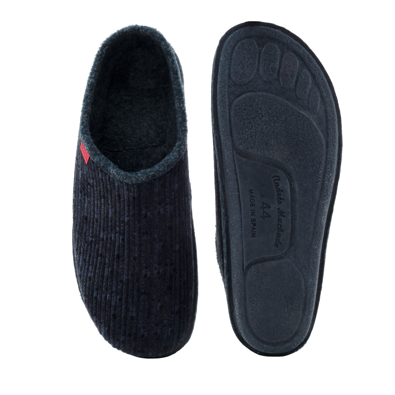 Zapatillas Alpinas Pana Azul.