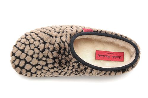 Zapatillas Alpinas de puntos Marron.
