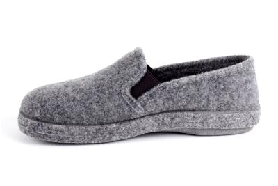 Anatomske zatvorene papuče, sive