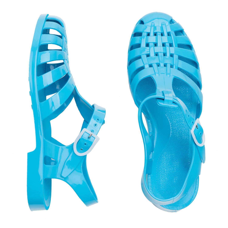 Sandály do vody. Barva sytá modrá.