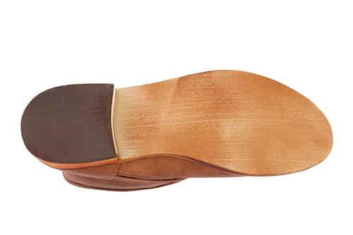 Bajkerske ravne čizme, svetlo smeđe