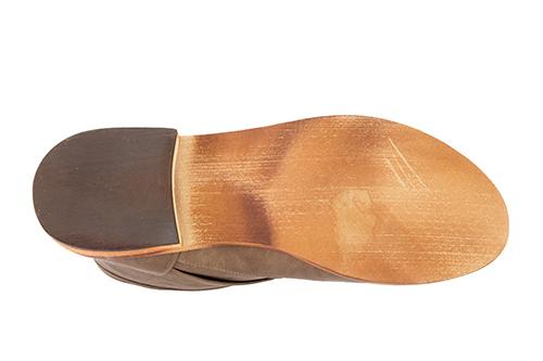 Bajkerske ravne čizme, krem
