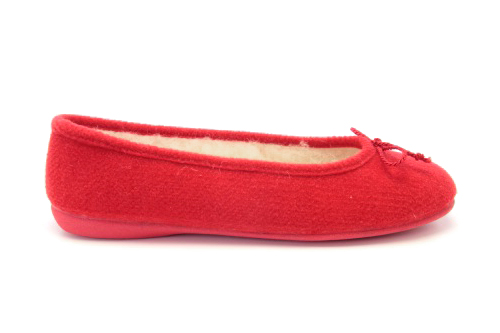 Bailarinas de Fieltro Rojo.