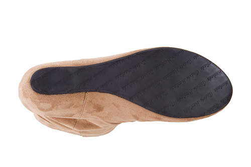 Antilop čizme na platformu, svetlo smeđe